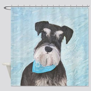 Schnauzer (Miniature) Shower Curtain