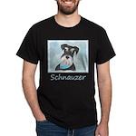 Schnauzer (Miniature) Dark T-Shirt