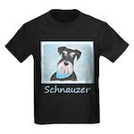 Schnauzer (Miniature) Kids Dark T-Shirt