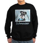 Schnauzer (Miniature) Sweatshirt (dark)