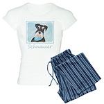 Schnauzer (Miniature) Women's Light Pajamas