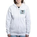 Schnauzer (Miniature) Women's Zip Hoodie