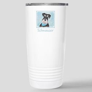 Schnauzer (Miniat 16 oz Stainless Steel Travel Mug