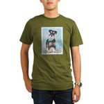 Schnauzer (Miniature) Organic Men's T-Shirt (dark)