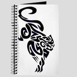 Black Panther Tribal Art 1 Journal