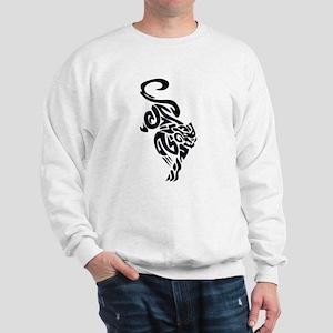 Black Panther Tribal Art 1 Sweatshirt