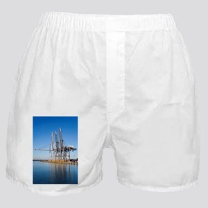 Dockside cranes - Boxer Shorts