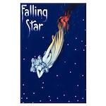 Falling Star Large Poster
