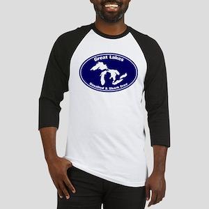 GREAT LAKES SHARK FREE Baseball Jersey