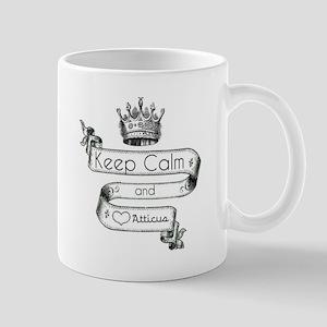 Keep Calm & Love Atticus Mug