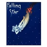 Falling Star Small Poster