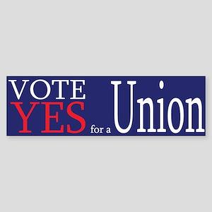 Demorcat: Pro-Union (Bumper)