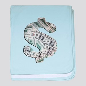 Money - Hundred Dollar Bills baby blanket