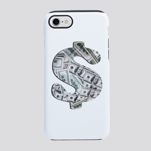Money - Hundred Dollar Bills iPhone 7 Tough Case