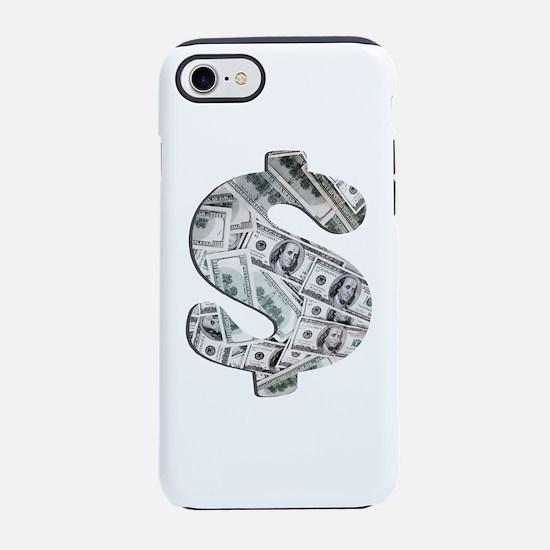 Money - Hundred Dollar Bills iPhone 7 Tough Case