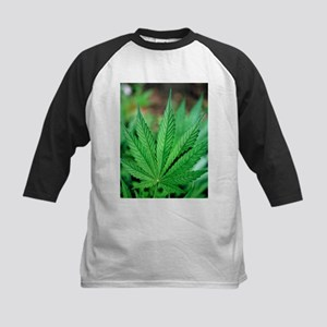 Cannabis leaves - Kids Baseball Jersey