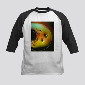 Lysozome protein crystals - Kids Baseball Jersey