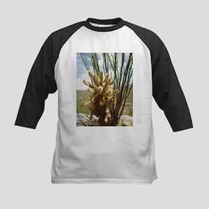 Teddy-bear cholla cactus - Kids Baseball Jersey