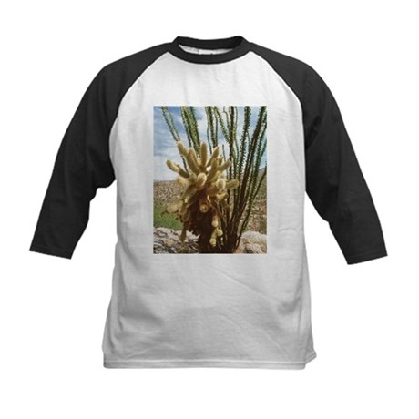 Teddy-bear cholla cactus - Kids Baseball Jersey