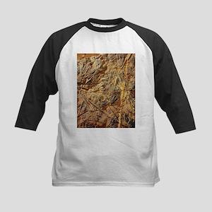 Crinoid fossils - Kids Baseball Jersey