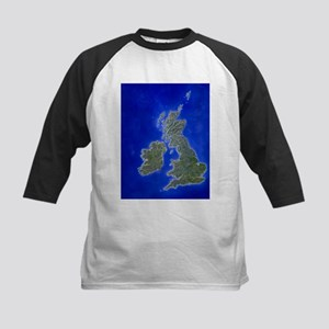 p of the British Isles - Kids Baseball Jersey