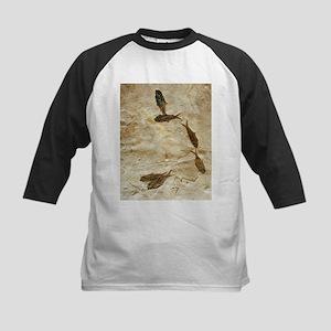 Fish fossils - Kids Baseball Jersey