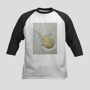 Fossilised horseshoe crab - Kids Baseball Jersey