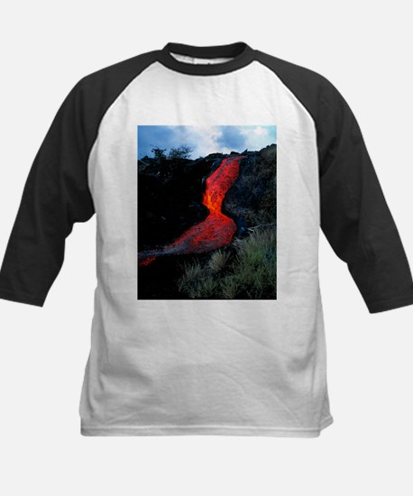 Lava flow - Kids Baseball Jersey
