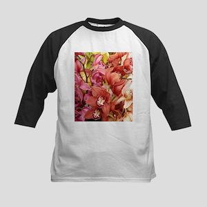 Mixed orchids - Kids Baseball Jersey