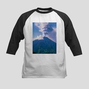 Tunguragua volcano - Kids Baseball Jersey