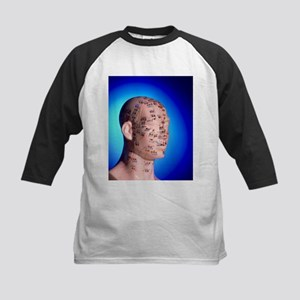 of a head and neck - Kids Baseball Jersey