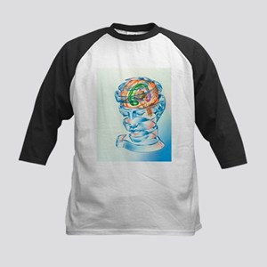 Brain limbic system - Kids Baseball Jersey