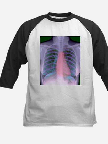 Heart, chest X-ray - Kids Baseball Jersey