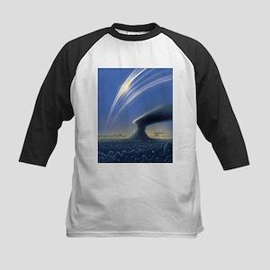 Saturn's rings, artwork - Kids Baseball Jersey