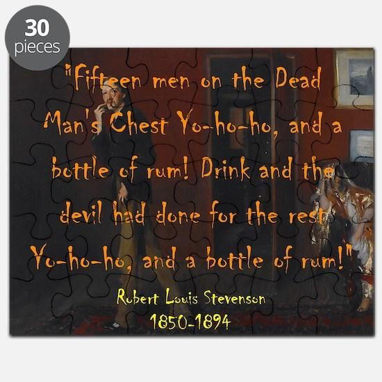Fifteen Men On A Dead Mans Chest - Stevenson Puzzl