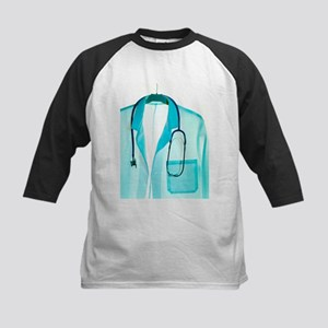 Stethoscope and lab coat - Kids Baseball Jersey