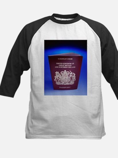 British passport - Kids Baseball Jersey