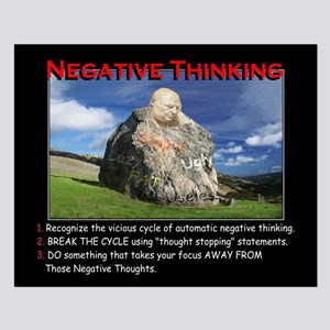 Negative Thinking sm Posters