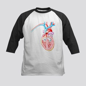 ive heart failure - Kids Baseball Jersey