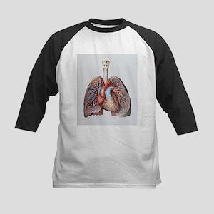 Lung blood vessels - Kids Baseball Jersey