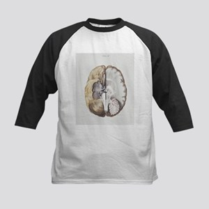 Brain anatomy - Kids Baseball Jersey