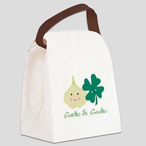 Garlic & Gaelic Canvas Lunch Bag