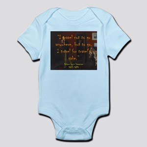 I Travel Not To Go Anywhere - Stevenson Body Suit