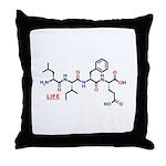 Life molecularshirts.com Throw Pillow