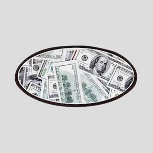 Money - Hundred Dollar Bills Patch