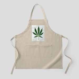 Leaves of marijuana plant, Cannabis - Apron