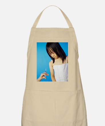 Childhood injection - Apron