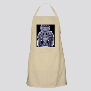 Snowman toy, simulated X-ray - Apron
