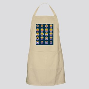 Healthy brain, MRI scans - Apron
