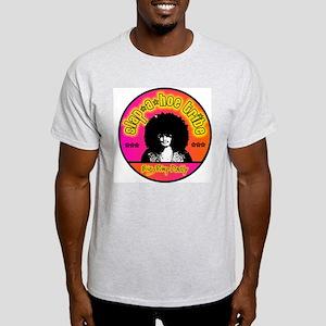 Slap a hoe Tribe Big Pimp Dad Ash Grey T-Shirt